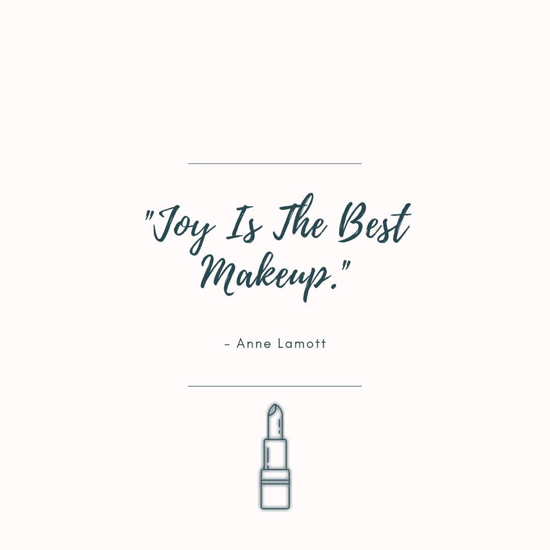 makeup caption quotes