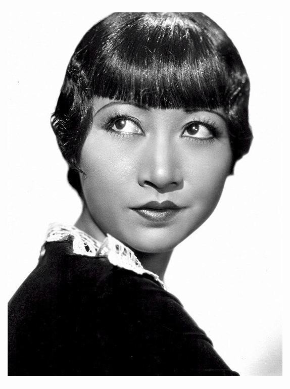flapper makeup anna may wong