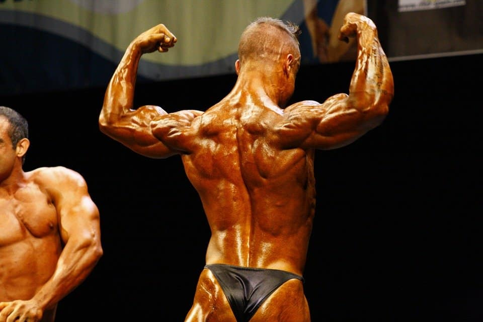 why do bodybuilders look so tan